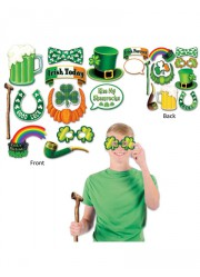 Décor leprechaun pour photos Saint-Patrick