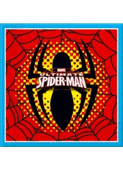 Serviettes Spiderman (x20)