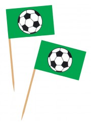 Pics mini drapeaux football (x50)