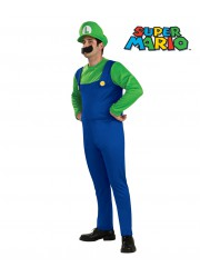 Déguisement Luigi (super Mario bros) adulte