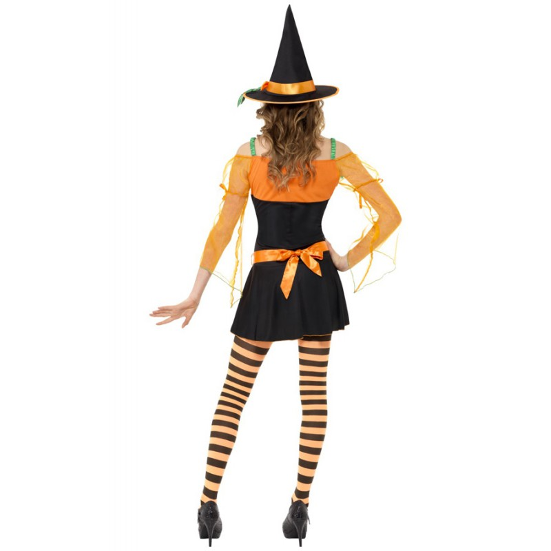 D guisement sorci re citrouille halloween adulte mister fiesta - Deguisement halloween adulte ...