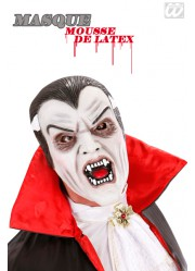 Masque vampire adulte (mousse de latex)