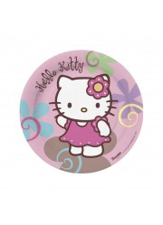 Petites assiettes Hello Kitty bamboo (x10)