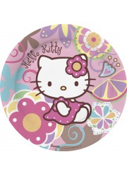 Assiettes Hello Kitty bamboo (x10)