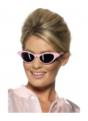 Lunettes rock star roses adulte