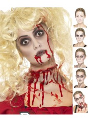 Maquillage de zombie Halloween