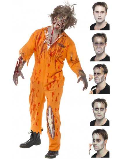 maquillage de zombie halloween mister fiesta. Black Bedroom Furniture Sets. Home Design Ideas