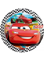 Assiettes Cars (x8)