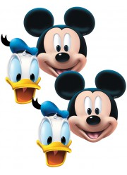 Masques de Mickey et Donald (x4)