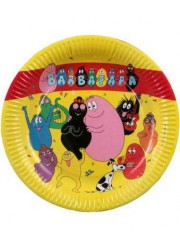 Assiettes Barbapapa (x6)