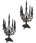 Centres de table chandeliers (x2)
