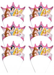 Diadèmes princesses Disney (x6)