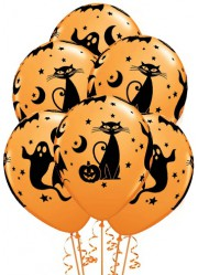 Ballons Halloween cartoon (x25)