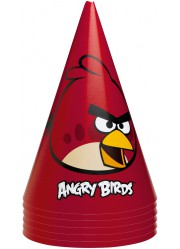 Chapeaux Angry birds (x6)