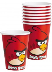 Gobelets Angry birds (x8)