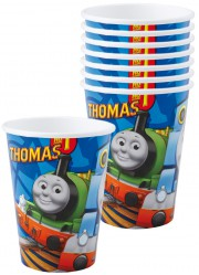 Gobelets Thomas le petit train (x8)