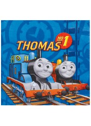 Serviettes Thomas le petit train (x20)