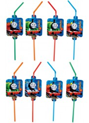 Pailles Thomas le petit train (x8)