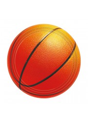 Petites assiettes basketball (x8)