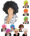 Perruque afro disco adulte