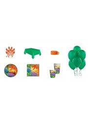 Kit anniversaire dinosaures (8 pers.)