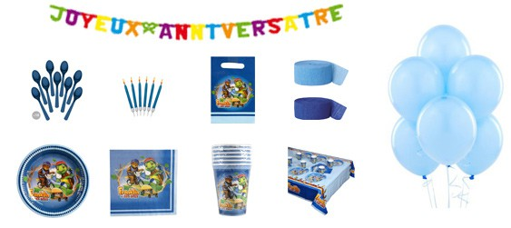 Kit anniversaire Franklin luxe (6 pers.)
