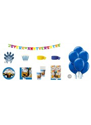 Kit anniversaire Donald luxe (8 pers.)