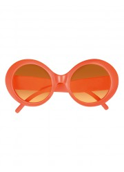 Lunettes disco fluo adulte