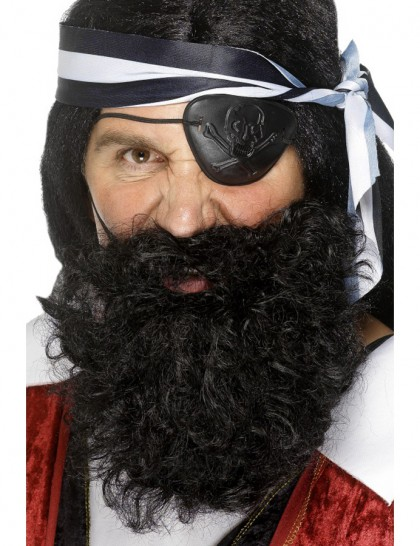 Barbe de pirate adulte
